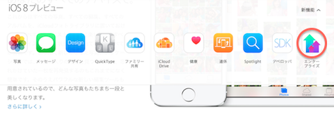 IOS8 Preview enterprise